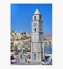 Roloi Clock Tower Photographic Print