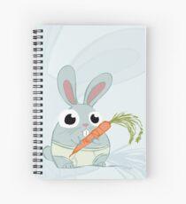 Trunk Bunny Spiral Notebook
