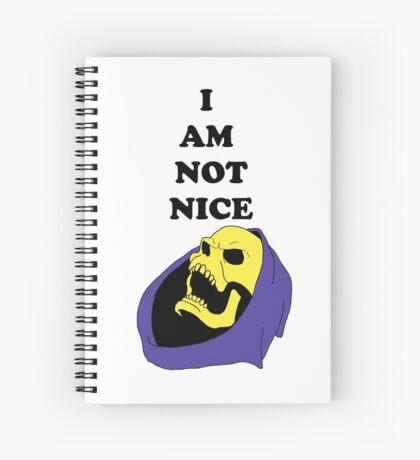 I AM NOT NICE Spiral Notebook
