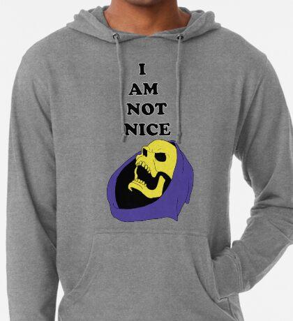 I AM NOT NICE Lightweight Hoodie
