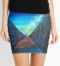 The Train is coming Mini Skirt
