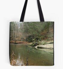 Peaceful Scenery Tote Bag