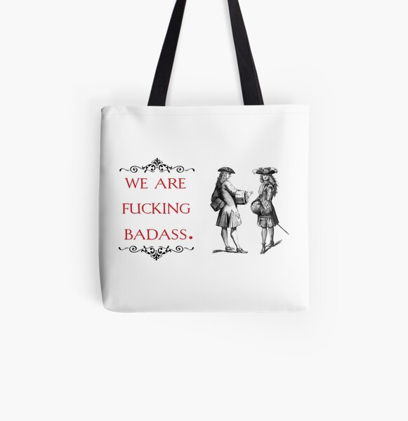 vintage pop culture - We are fucking badass All Over Print Tote Bag