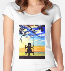 Forever Young Fitted Scoop T-Shirt