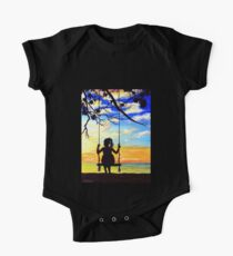 Forever Young Short Sleeve Baby One-Piece