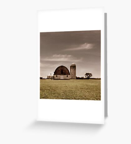 Dry Earth Crumbles Between My Fingers and I Look to the Sky for Rain Greeting Card