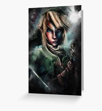 Legend of Zelda Link is One Epic Hylian Greeting Card