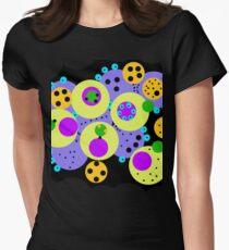 bubbldibubbl Tailliertes T-Shirt für Frauen