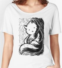 Safe In Your Arms Dark Shirt Women's Relaxed Fit T-Shirt