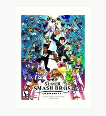Smash Community  Art Print