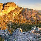 Mount Stapylton, Grampians, Victoria, Australia by Michael Boniwell