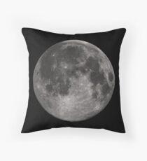Full Moon Pillow Throw Pillow
