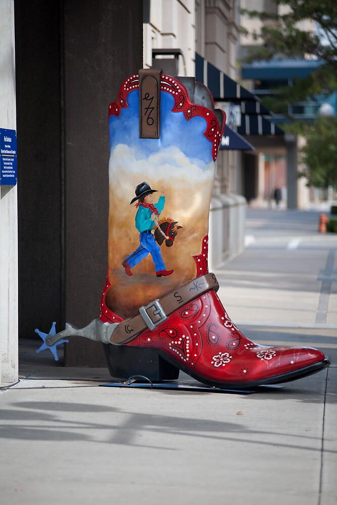 Large Boot by Todd Ward