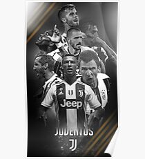 Art Juventus Squad Poster
