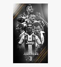Art Juventus Squad Photographic Print