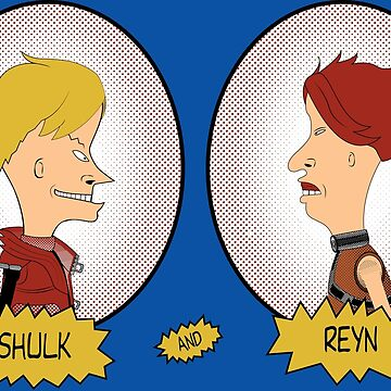 Shulk And Reyn Do Colony 9! by yashanyu1