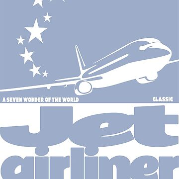 Jet 3 Airliner by rustyredbubble