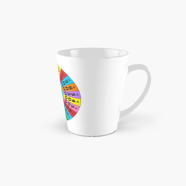 Wheel! of! Fortune! Tall Mug