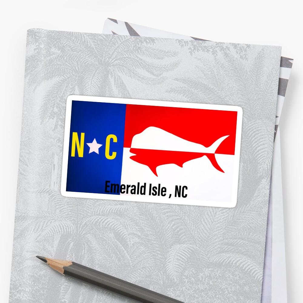 Emerald Isle NC sticker  Stickers