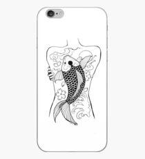 Koi zurück Tätowierung iPhone-Hülle & Cover