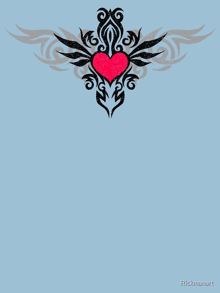 Tribal Heart by Rickmanart