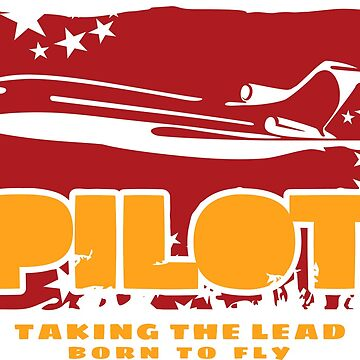 Classic pilot 2 by rustyredbubble
