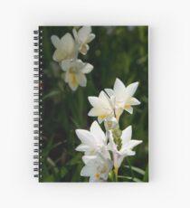 Arum Lilies Spiral Notebook