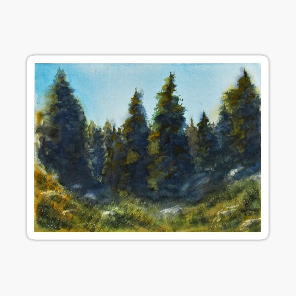 Mountain Meadow Sticker