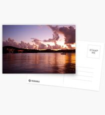 Vieques Island at dusk Postcards