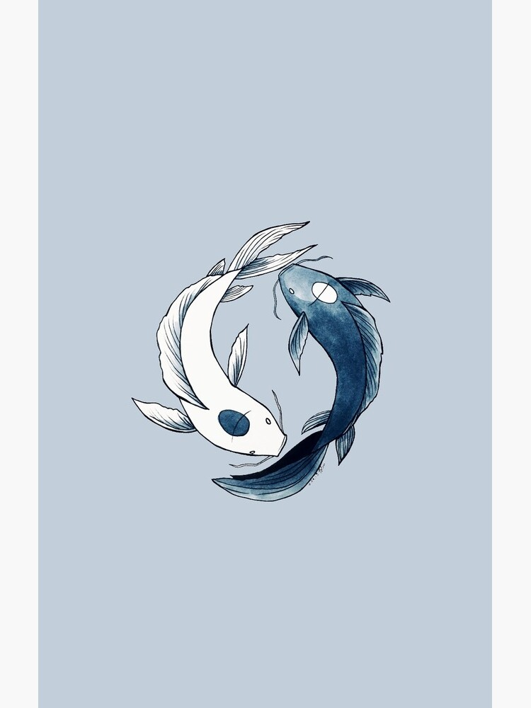 Tui and La - Yin & Yang Koi by nicoledesigns