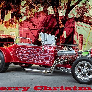 Hot Rod Christmas by barkeypf