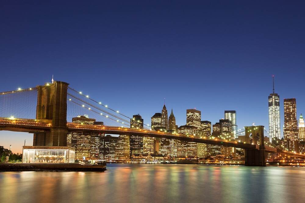 Brooklyn Bridge by Mark Eden