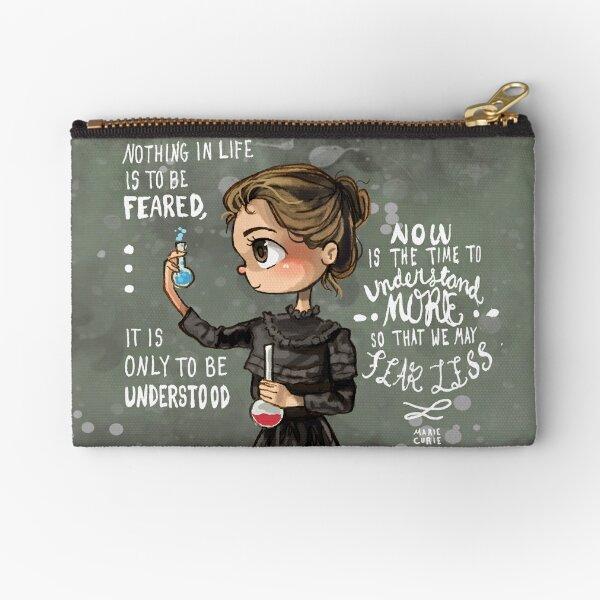 Marie Curie Zipper Pouch