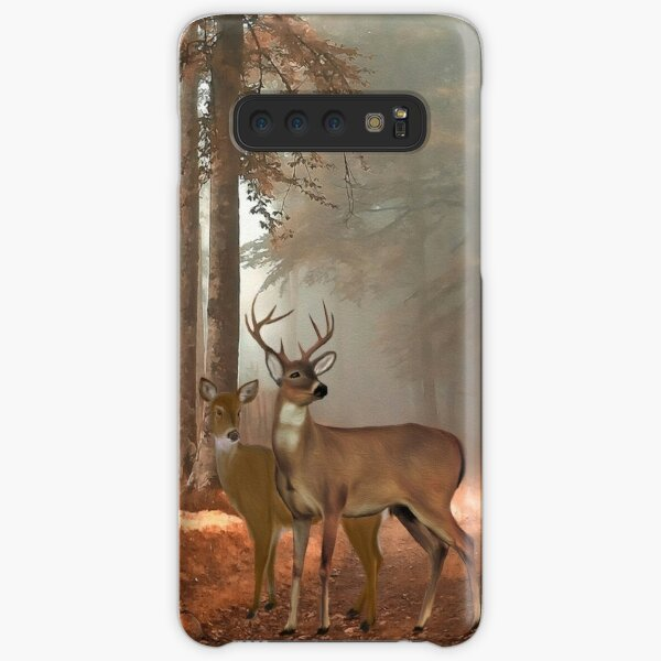 Male and Female Whitetail Deer Samsung Galaxy Snap Case