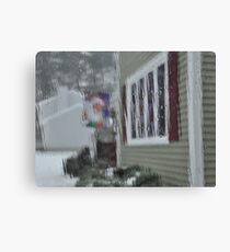 Waiting for Christmas Canvas Print