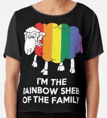 I'm The Rainbow Sheep Of The Family T-Shirt Chiffon Top