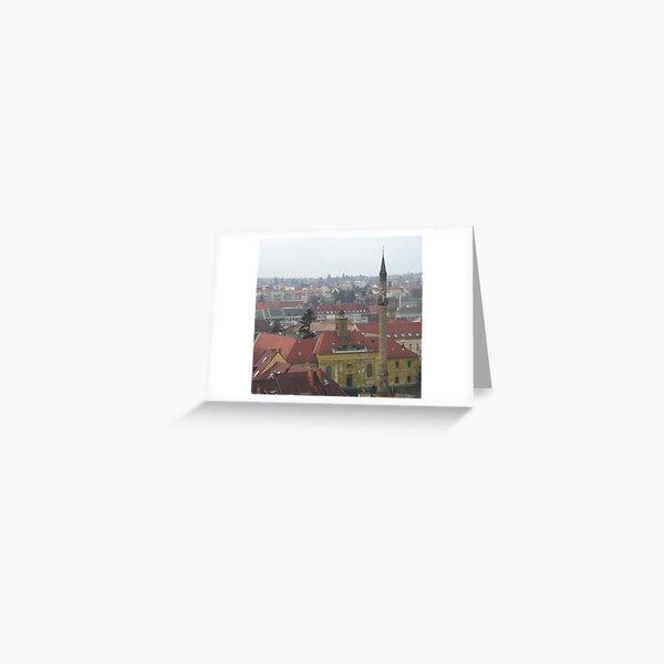 Minaret, Eger, Hungary Greeting Card