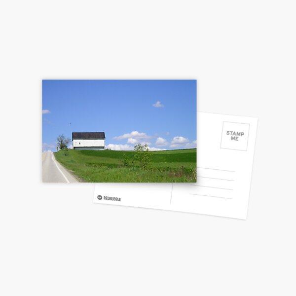 Long Roads Under an Ohio Sky Postcard