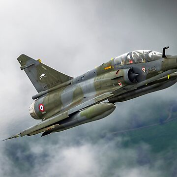 France Air Force MIRAGE 2000 in flight. Photographed at Royal International Air Tattoo (RIAT)  by PhotoStock-Isra