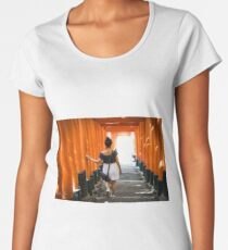 Fushimi Inari Premium Scoop T-Shirt
