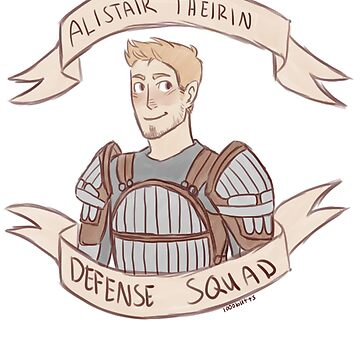 Dragon Age Origins: ALISTAIR THEIRIN DEFENSE SQUAD by 1000butts
