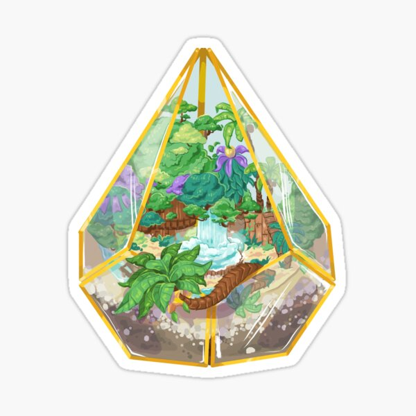 Destiny Terrarium Sticker