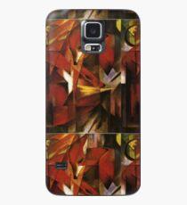 Füchse - Franz Marc (ncie) Hülle & Klebefolie für Samsung Galaxy