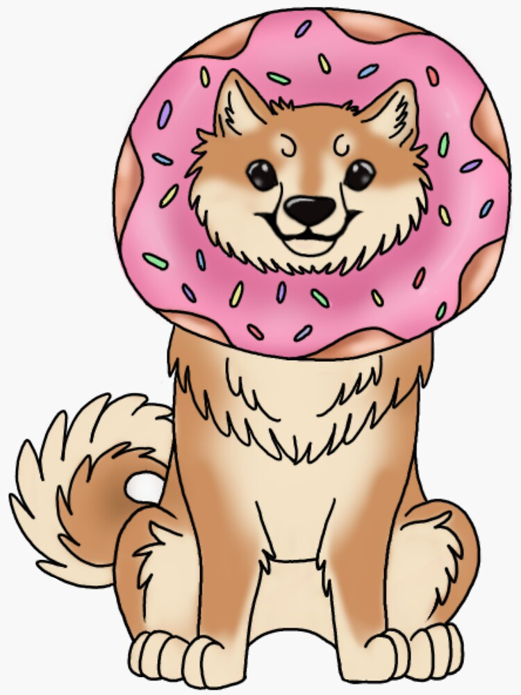 Donut Shibe by klovesbunnies