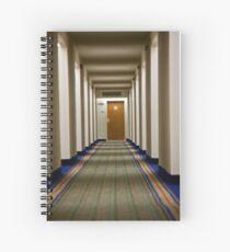 Hallway Stroll Spiral Notebook