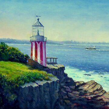 Hornby Lighthouse Sydney Australia by marshstudio