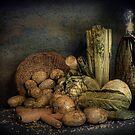 Still Life Vegetables  by Irene  Burdell