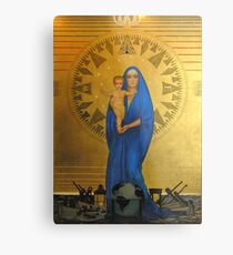 Shoesmith's Madonna of the Atlantic Metal Print