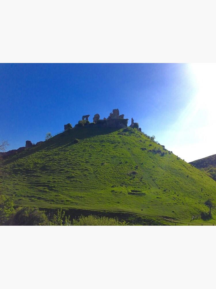 Corfe Castle, England by suitcaseofbks