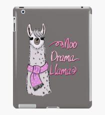Funny Llama Cartoon iPad Case/Skin
